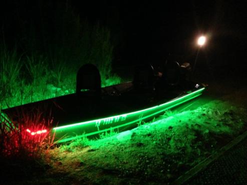 Custom LED Light kits - AnytimeOutdoors Guide Service Fishing and